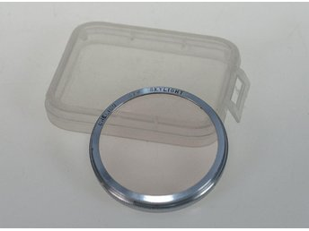 37mm push on UV filter,excellent condition