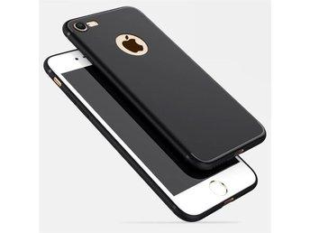 iPhone 7 Slimmat och supertunt tpu skyddskal i mattsvart skal skydd - Umeå - iPhone 7 Slimmat och supertunt tpu skyddskal i mattsvart skal skydd - Umeå
