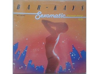 "Bar-Kays title* Sexomatic* Disco 12"" France"