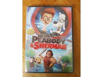 NY, Herr Peabody & Sherman, Inplastad, - DVD, svenskt tal, Extramaterial - Höör - NY, Herr Peabody & Sherman, Inplastad, - DVD, svenskt tal, Extramaterial - Höör