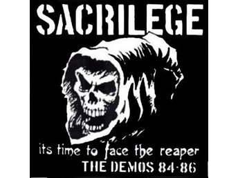Sacrilege - Time To Face The Reaper + demos 84-86 - 2xLP