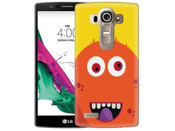 LG G4 Skal Orange Monster