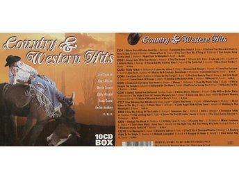 Country & Western Hits, Div artister (10CD)