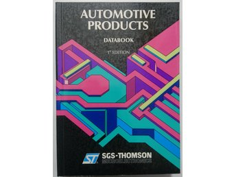 SGS Automotive products Databook 1st Edition