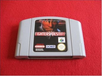 FIGHTERS DESTINY till Nintendo 64 N64