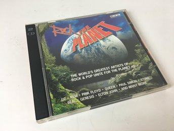 CD-skiva - Rock the Planet - 1996