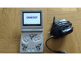 Gameboy / GBA / Game Boy Advance SP AGS-101 + laddare