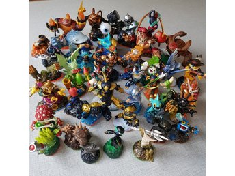 40 st Figurer Skylanders Swap Force och Giants