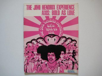 The JIMI HENDRIX Experience - Axis: Bold As Love 1968 (nothäfte)