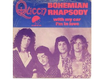 "QUEEN - Bohemian Rhapsody  7"" Singel  Holland"