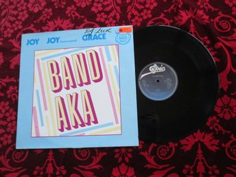 "12"" maxi: THE BAND AKA Joy/Grace (1983) Electro"