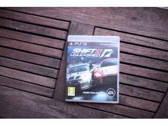 Playstation 3 spel PS3 NFS Need for speed SHIFT 2 Unleasched