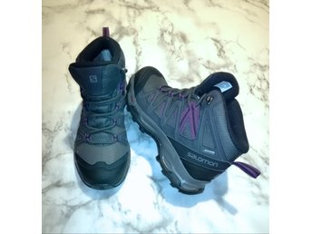 Salomon Gore Tex Contagrip Ortholite nya skor storlek 37.5