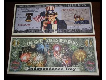 JULY 4TH, INDEPENDENCE DAY MILLION DOLLAR