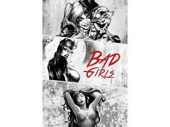 DC Comics - Bad Girls Black And White