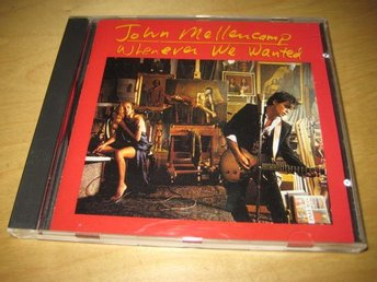 JOHN MELLENCAMP - WHENEVER WE WANTED. - Uppsala - JOHN MELLENCAMP - WHENEVER WE WANTED. - Uppsala