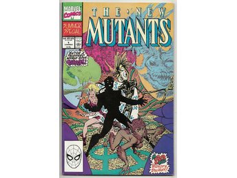 New Mutants Summer Special # 1 VF-NM