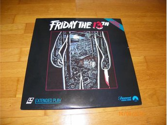 Friday the 13TH - 1st laserdisc