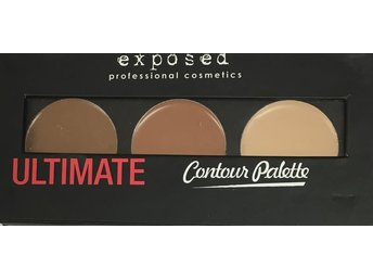 Exposed Ultimate Contour Palette - 3 nyanser