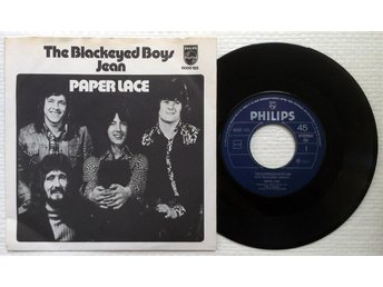 "PAPER LACE 'The Blackeyed Boys' 1974 Norwegian 7"" - Bröndby - PAPER LACE 'The Blackeyed Boys' 1974 Norwegian 7"" - Bröndby"