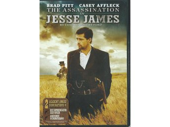 THE ASSASSINATION OF JESSE  JAMES - BRAD PITT(SVENSKT TEXT )