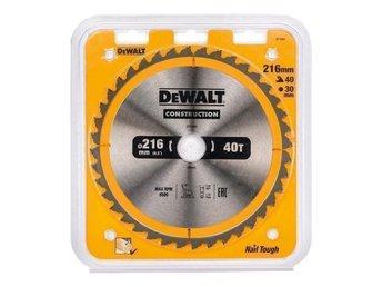 Dewalt Sågklinga 216mm 40 Tänder DT1953 - Lidingö - Dewalt Sågklinga 216mm 40 Tänder DT1953 - Lidingö