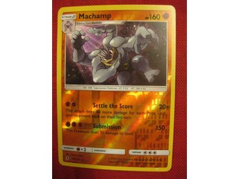 MACHAMP - 160 HP - RARE REVERSE HOLO - POKEMON - 65/145