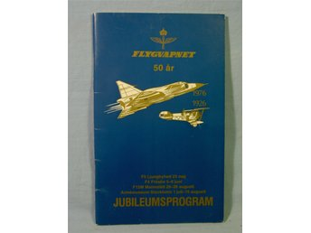JUBILEUMS -FLYGDAGS-PROGRAM FV50år 1976