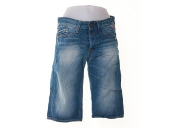 Replay Blue Jeans, jeansshorts, Strl: 30, Blå