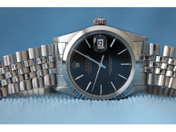 Rolex Oyster Perpetual Datejust - Ref 16000 - Mycket fint skick - 36mm - 1983