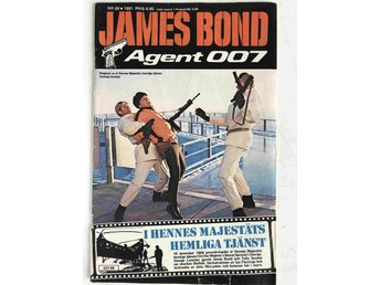 James Bond - Löpnr: 69 VG-FN