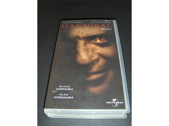 Hannibal (Anthony Hopkins) VHS