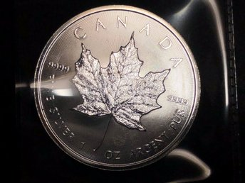 Kanada Maple Leaf 2017 - 1 oz 0.9999 Silver (1oz/troy) - NY
