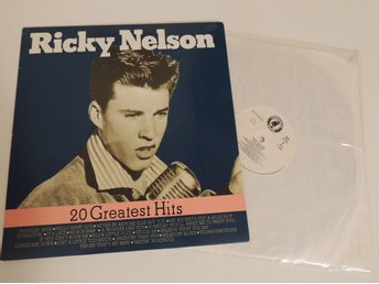 Ricky Nelson - 20 Greatest Hits, Lp 1987