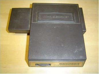 INTELLIVOICE MATTEL INTELLIVISION