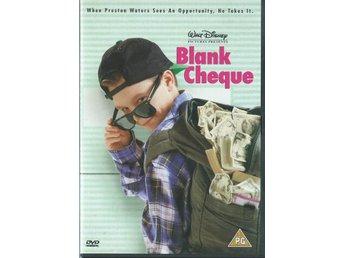 WALT DISNEY - BLANK CHEQUE(SVENSKT TEXT ) - Svedala - WALT DISNEY - BLANK CHEQUE(SVENSKT TEXT ) - Svedala