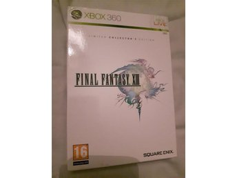 Final fantasy 13 XIII och 13-2 XIII-2 limited collectors editions xbox 360