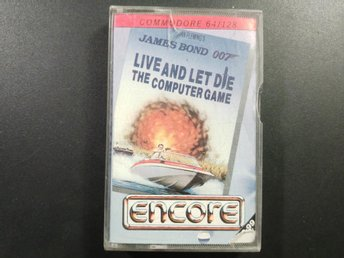 James bond till Commodore 64 / 128 C64 C128 007 Encore - Torslanda - James bond till Commodore 64 / 128 C64 C128 007 Encore - Torslanda