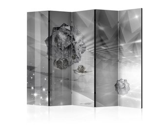 Rumsavdelare - Abstract Greyness II Room Dividers 225x172