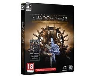 Middle Earth: Shadow of War - Gold Edition (PC Spel - Steam)