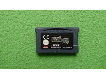 WF Road to Wrestlemania Nintendo GBA