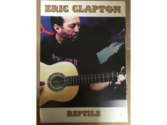 Poster Eric Clapton Reptile