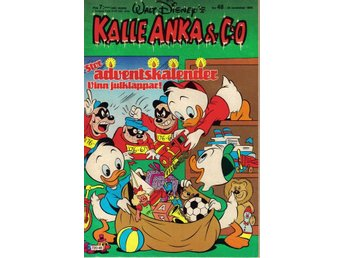 Kalle Anka & Co nr. 48 25:e November 1985 Walt Disney´s