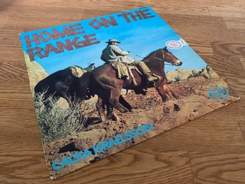 CACKA ISRAELSSON HOME ON THE RANGE LP