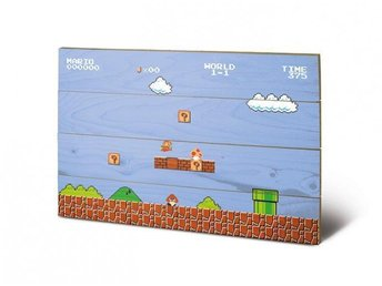 Super Mario Bros. Wooden Wall Art 1-1 40 x 60 cm