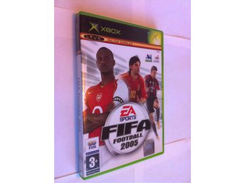 Xbox: EA Sports - FIFA Football 2005 - Svensksåld