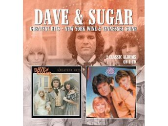 Dave & Sugar: Greatest Hits/N.W.Wine & Tennessee (CD) - Nossebro - Dave & Sugar: Greatest Hits/N.W.Wine & Tennessee (CD) - Nossebro