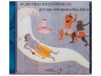 ELECTRIC PSYCHEDELIC SITAR HEADSWIRLERS      CD