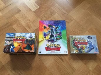 Pokemon stadium 1 och 2 + guide