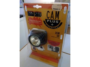CAM PLUS + VIDEOLIGHT PHILIPS 35W 6V    TOPPSKICK INPLASTAD